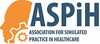 Logo for ASPiH (Association for Simulated Practice in Healthcare)