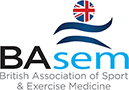 Logo for British Association of Sport and Exercise Medicine (BASEM)