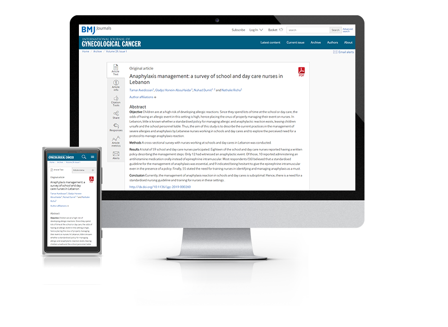 Subscribe your institution to the online version of Heart