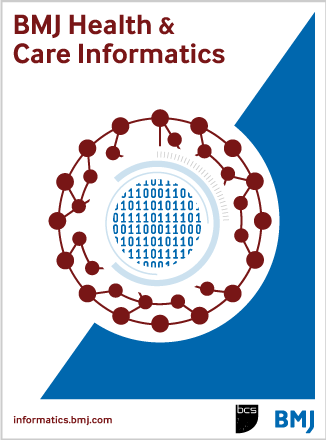 BMJ Health & Care Informatics
