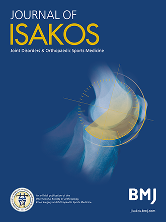 Journal of ISAKOS (JISAKOS)