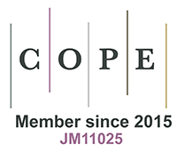 COPE logo information about the Journals membership
