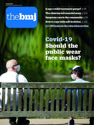 The BMJ journal cover